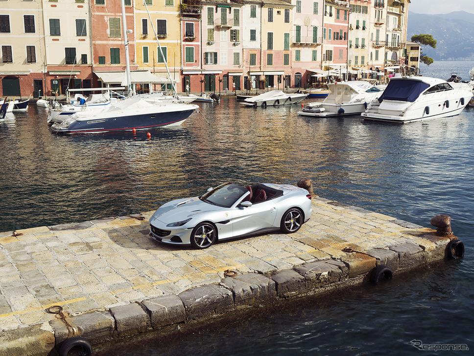 フェラーリ ポルトフィーノM《Photo by Ferrari》
