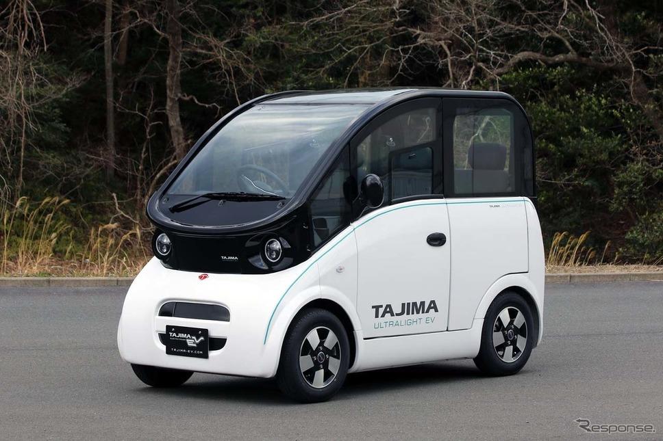 開発中の新型車両。これをベースに生産車両が決定されると予想される