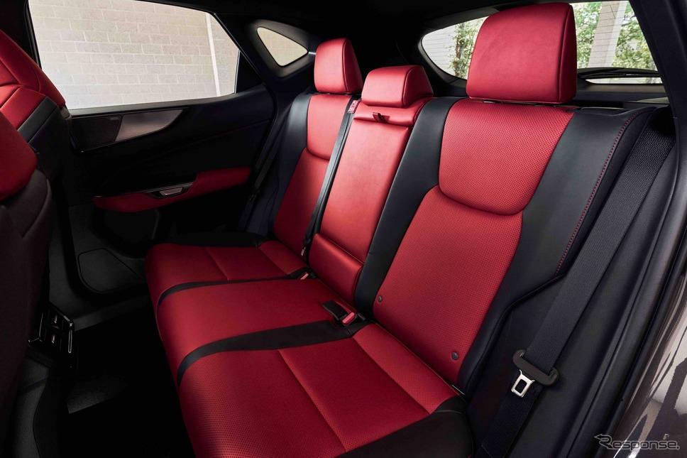 レクサスNX新型:350h F SPORT《photo by Lexus》