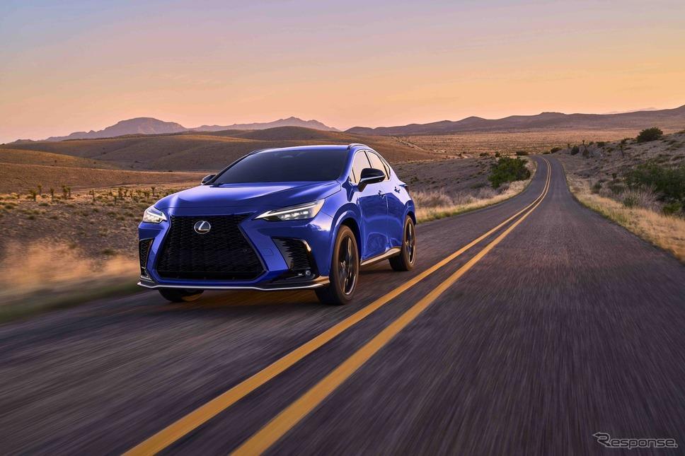 レクサスNX新型:450h+F SPORT《photo by Lexus》