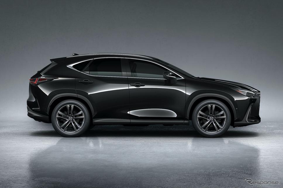 レクサスNX新型(プロトタイプ)《写真提供 トヨタ自動車》