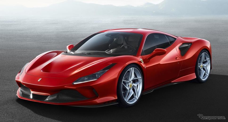フェラーリ F8トリブート《photo by Ferrari》
