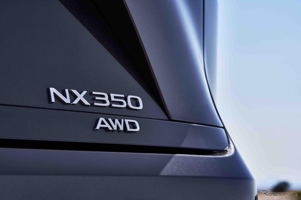 レクサスNX新型:NX350 F SPORT《photo by Lexus》