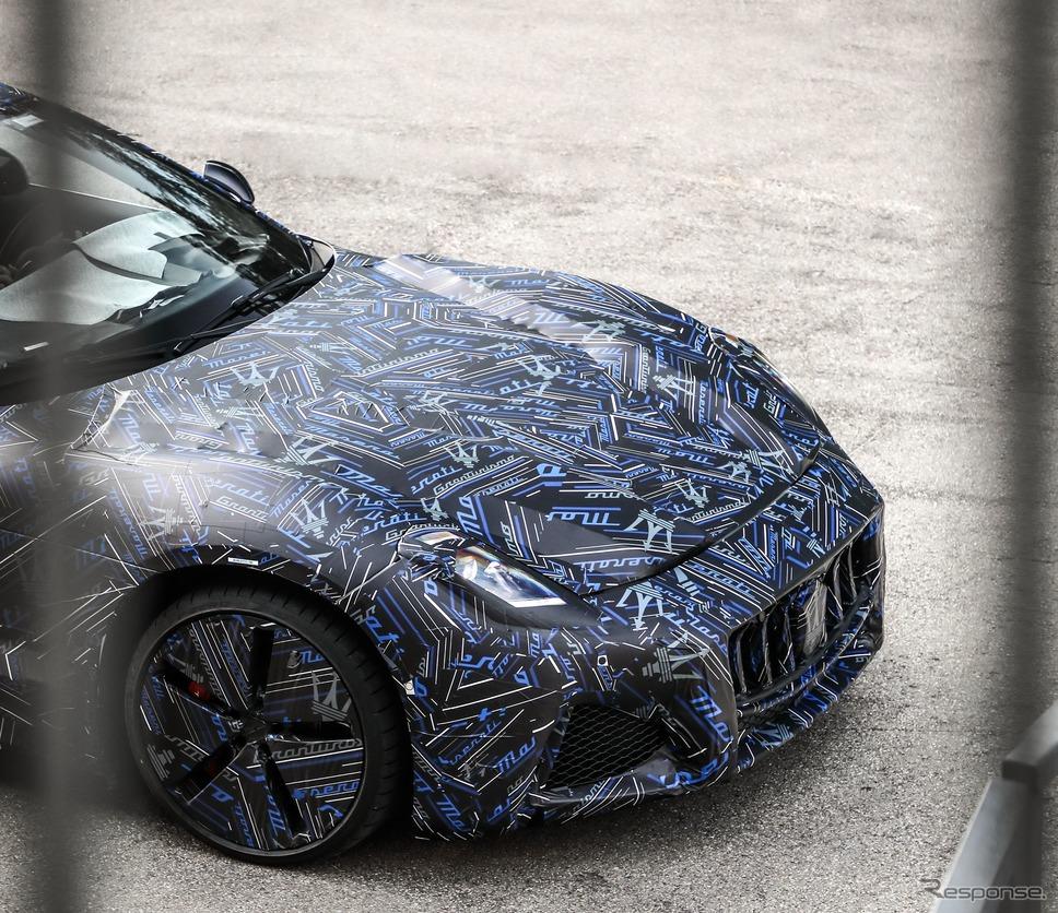 マセラティ・グラントゥーリズモ 次期型のプロトタイプ《photo by Maserati》
