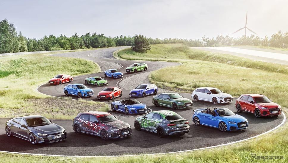 アウディ「RSシリーズ」のラインナップ《photo by Audi》
