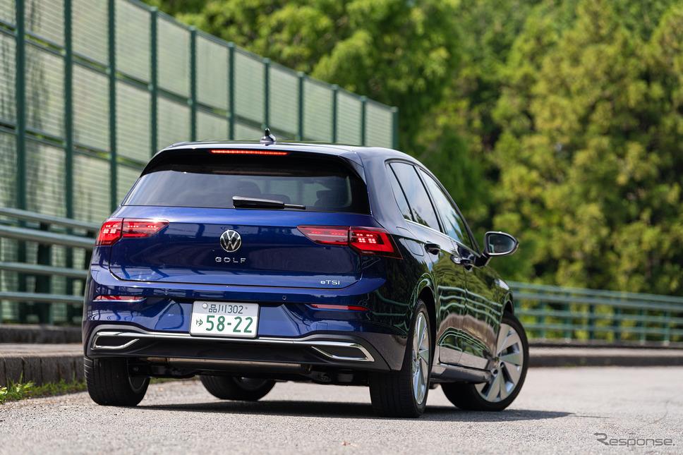 VW ゴルフ 新型《写真撮影 土屋勇人》