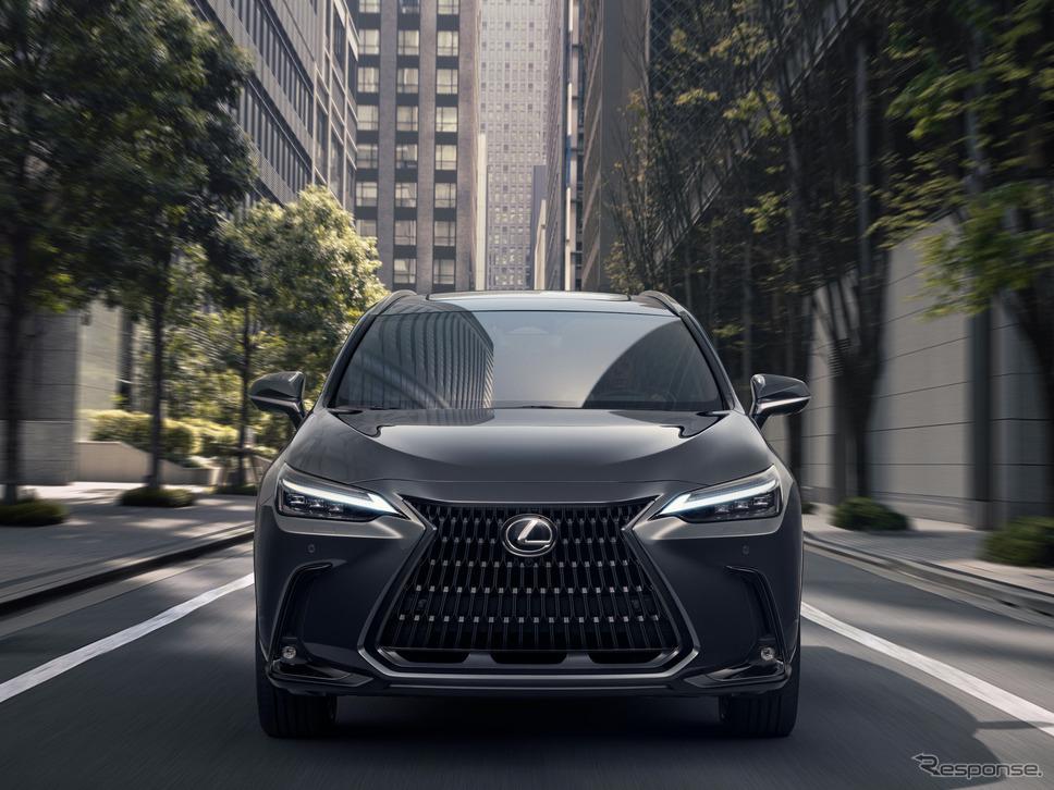 レクサスNX新型プロトタイプ《写真提供 トヨタ自動車》