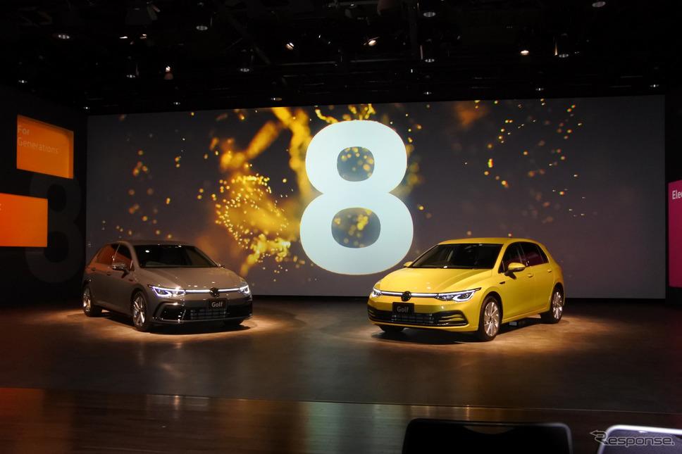 VW ゴルフ 新型発表会《写真撮影 小松哲也》
