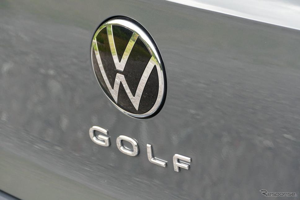 VWゴルフ eTSI R-Line《写真撮影 島崎七生人》