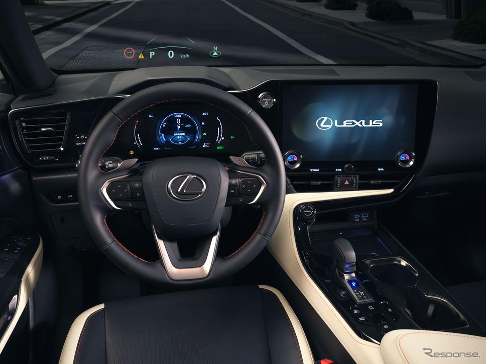 レクサスNX新型《写真提供 トヨタ自動車》