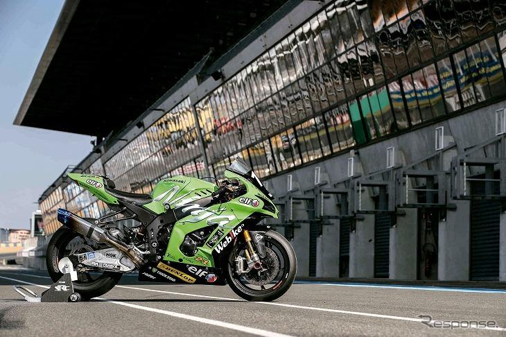 Webike SRC Kawasaki France TRICKSTAR《写真提供 TRICKSTAR》