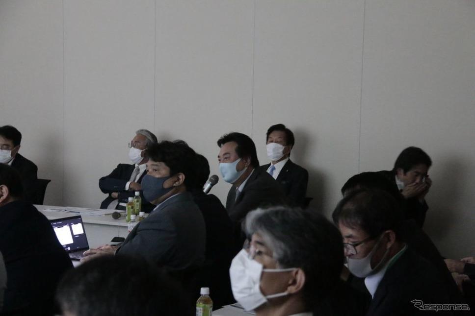 「キャンピングカーとくるま旅の普及を実現する議員連盟」発足式《写真提供 日本RV協会》