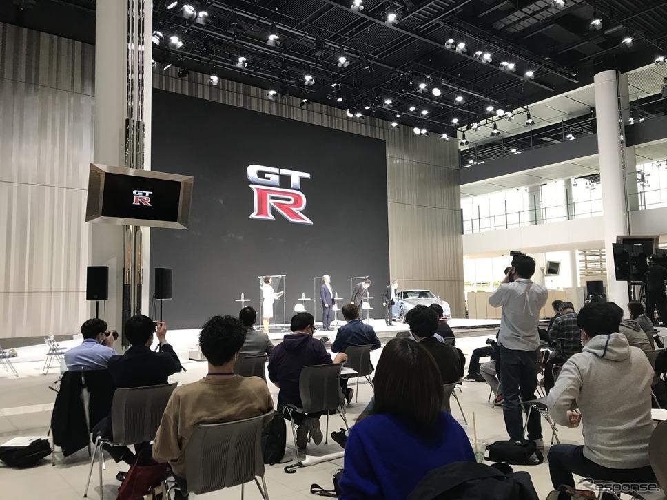 日産GT-Rニスモ 2022年モデル発表会(横浜市、日産グローバル本社)《写真撮影 高木啓》