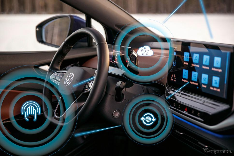 「クルマがソフトウェアで選ばれる時代が来る」とVWは考えている《Photo by Volkswagen》
