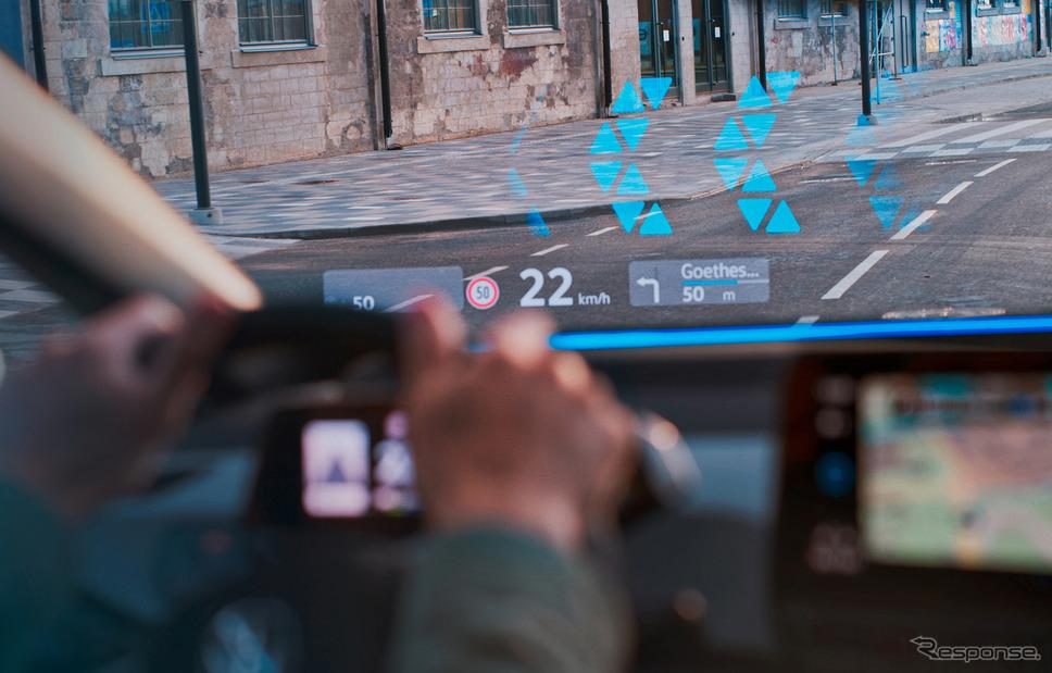 コネクテッドカーのイメージ《Photo by Volkswagen》