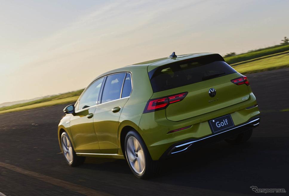 VW ゴルフ 新型(eTSI Style)《写真提供 フォルクスワーゲン グループ ジャパン》