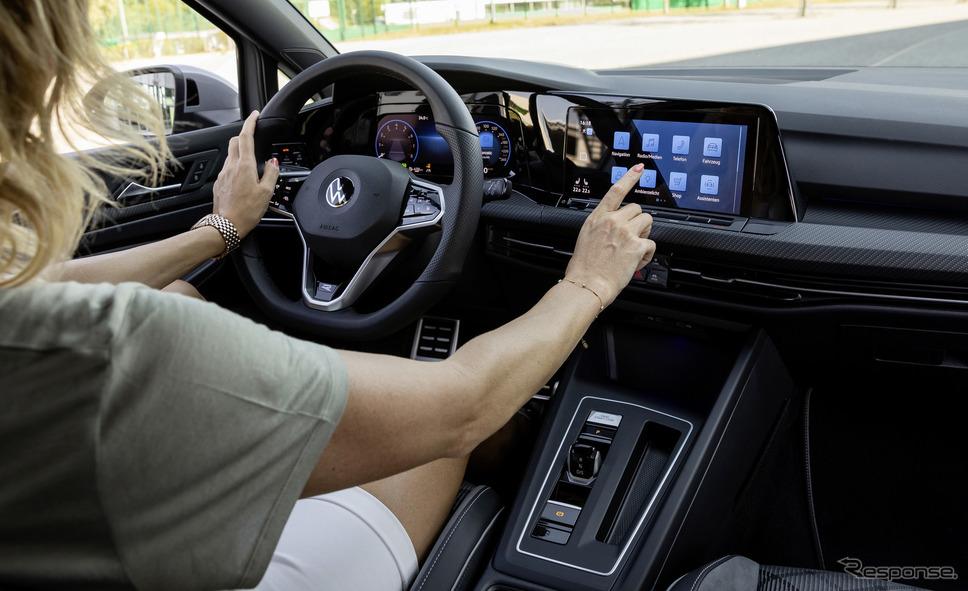 VW ゴルフ 新型のインテリア《photo by Volkswagen》