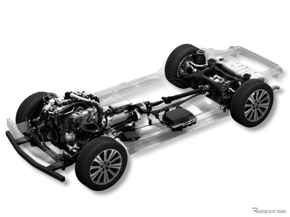 ラージ群:ガソリンエンジン48Vマイルドハイブリッド《写真提供 マツダ》
