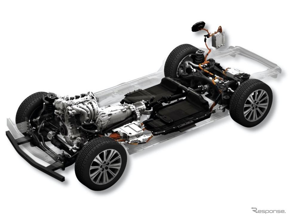 ラージ群:ガソリンエンジン・ラグインハイブリッド《写真提供 マツダ》