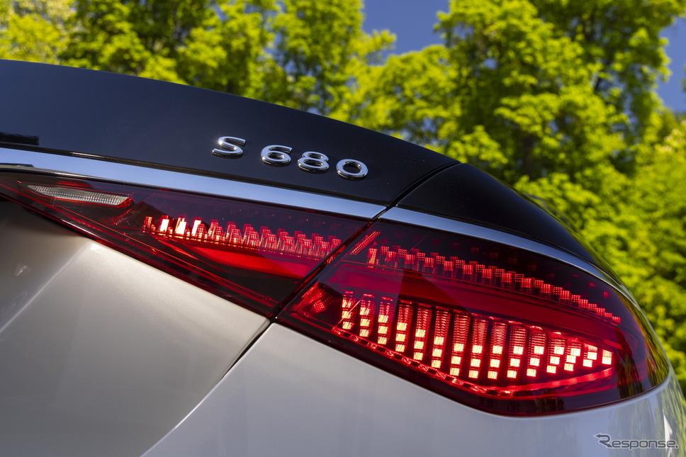 メルセデスマイバッハ Sクラス 新型の「S680 4MATIC」《photo by Mercedes-Benz》