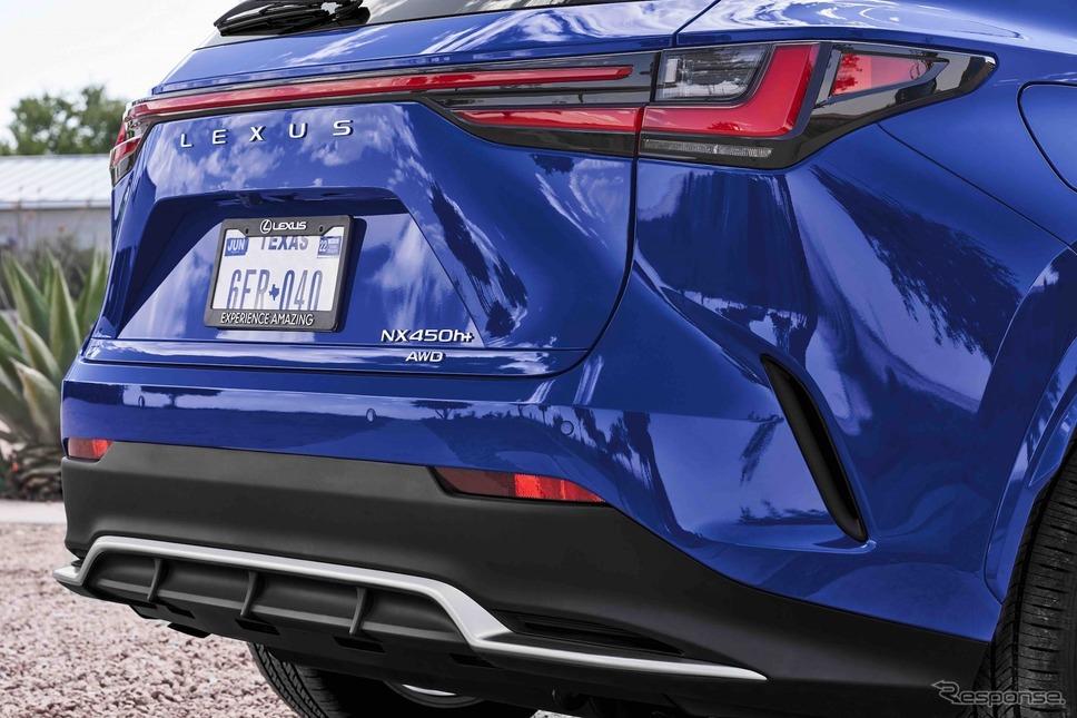 レクサスNX450h+《photo by Lexus》
