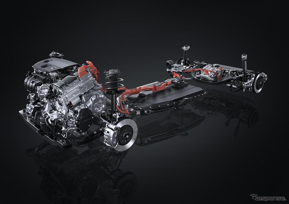 PHEV システム(プロトタイプ)《写真提供 トヨタ自動車》