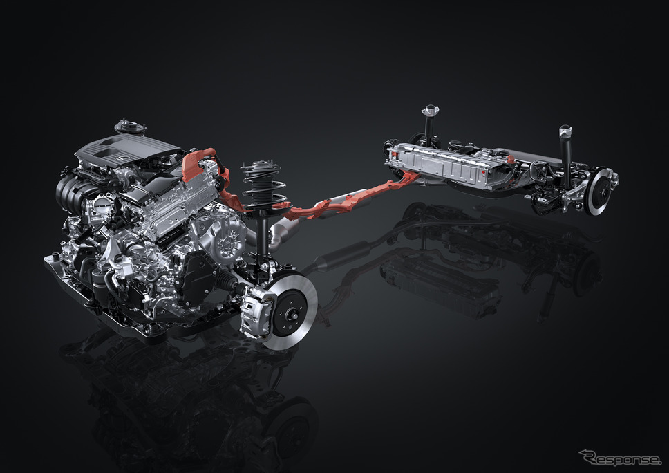 HEV システム(プロトタイプ)《写真提供 トヨタ自動車》