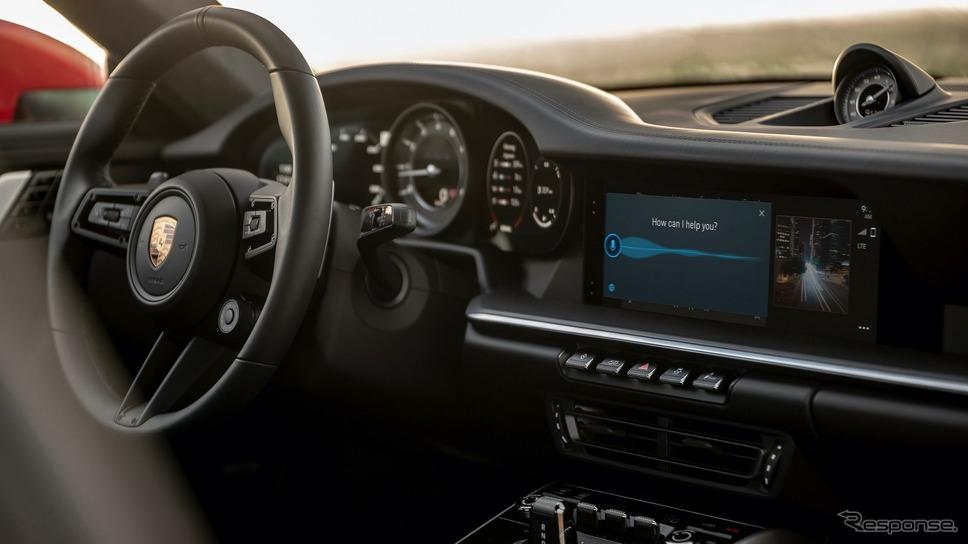 ポルシェの「PCM 6.0」《photo by Porsche》