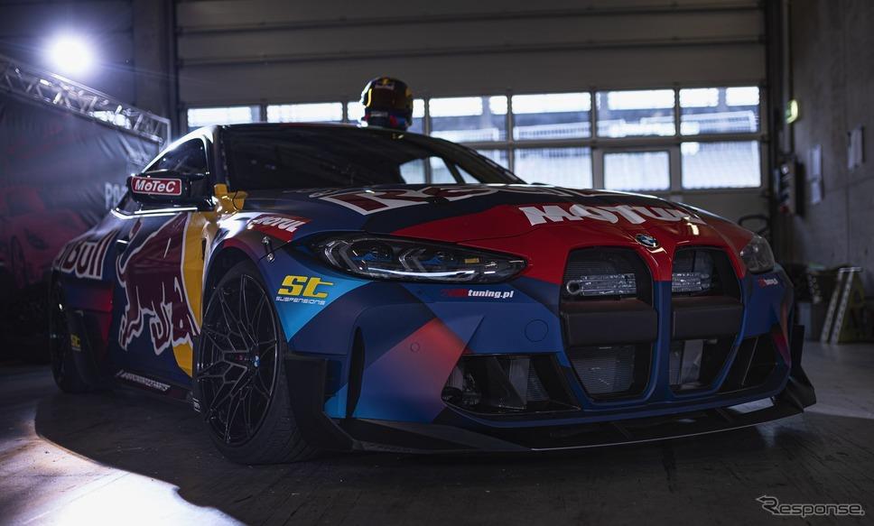 BMW M4 クーペ・コンペティション 新型の「2021ドリフトマスターズ欧州選手権」参戦車両