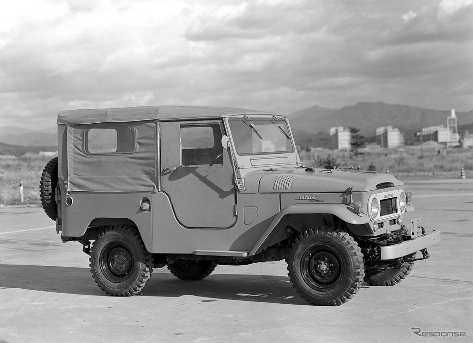 1961年:ランドクルーザー40系(ヘビーデューティ)《写真提供 トヨタ自動車》