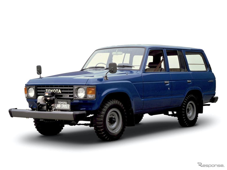1980年:ランドクルーザー60系(ステーションワゴン)《写真提供 トヨタ自動車》