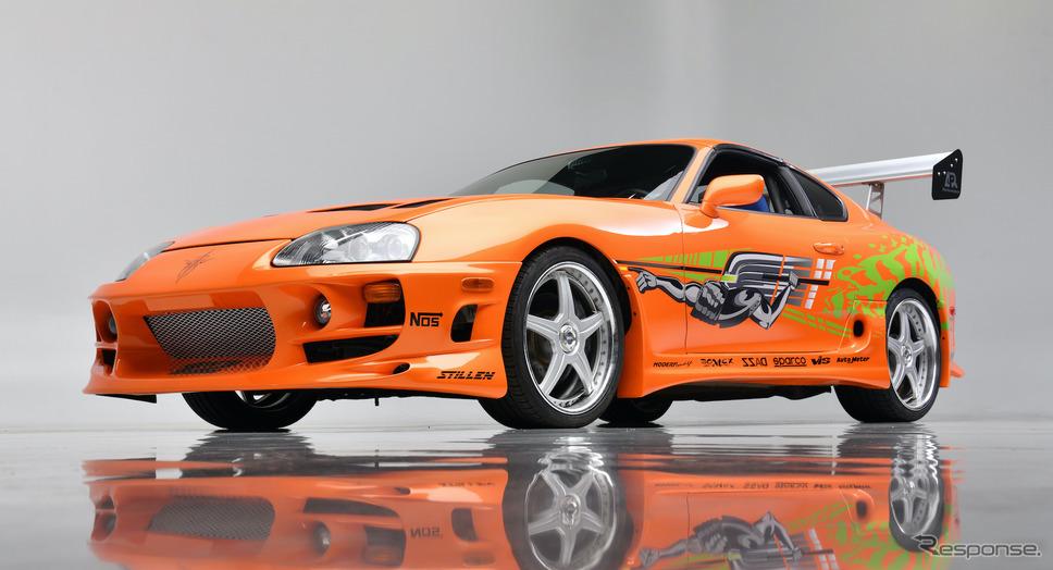 映画『ワイルド・スピード』で使用されたトヨタ・スープラ(1994年モデル)《photo by Barrett-Jackson》