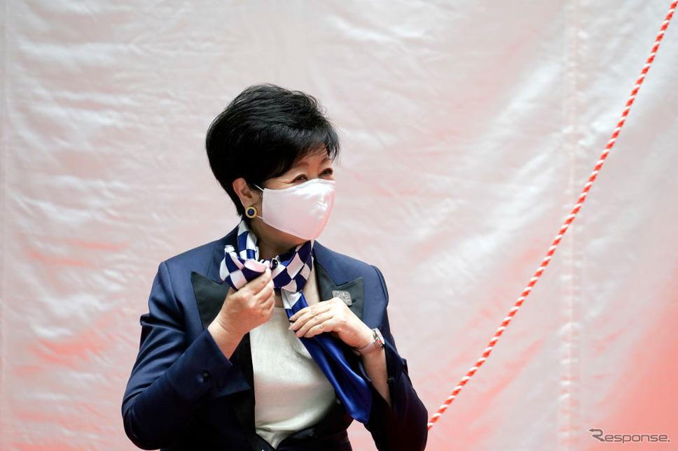 静養することになった東京都の小池都知事《Photo by Eugene Hoshiko - Pool/Getty Images Sport/ゲッティイメージズ》