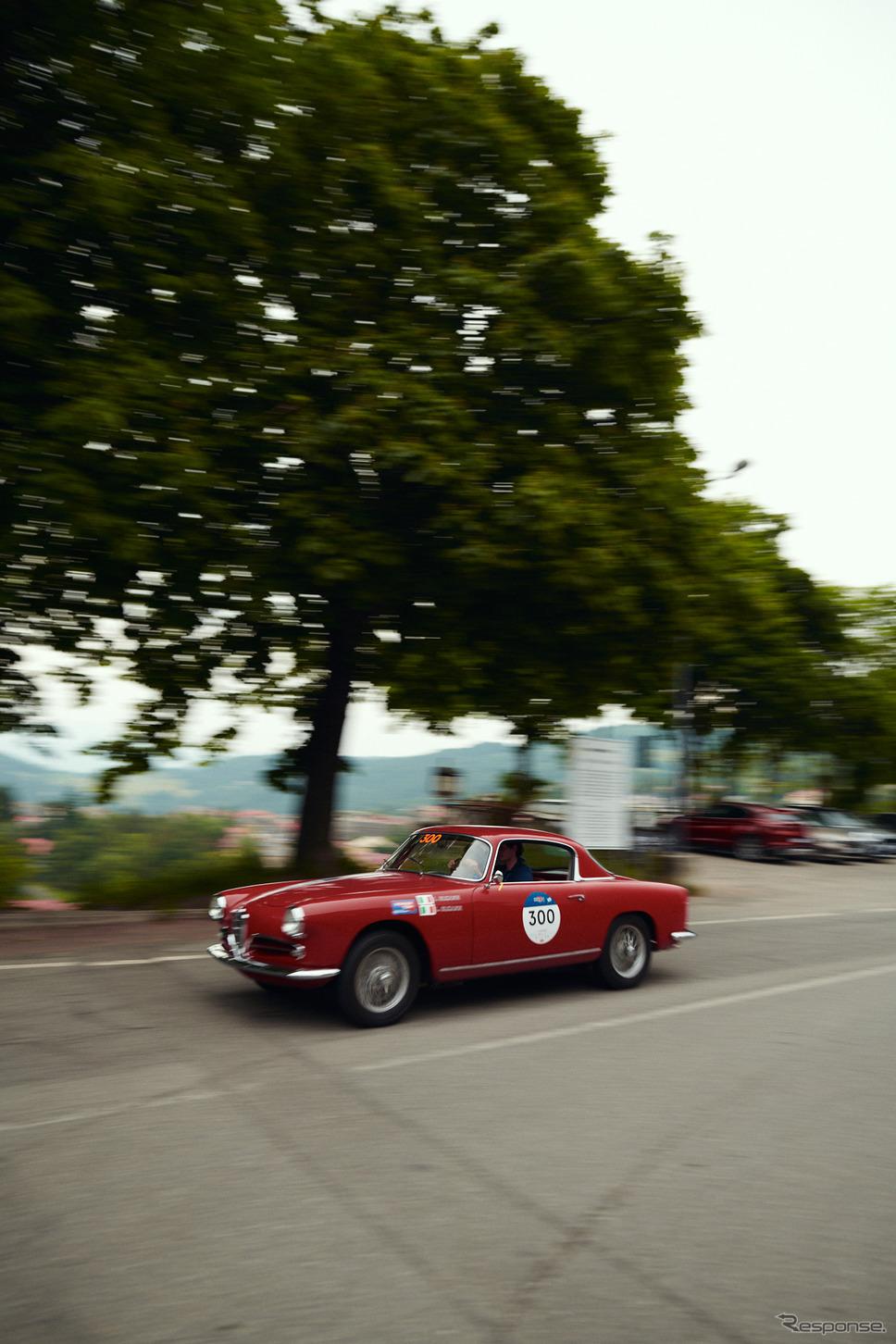 「ミッレミリア2021」に参加したアルファロメオ《photo by Alfa Romeo》