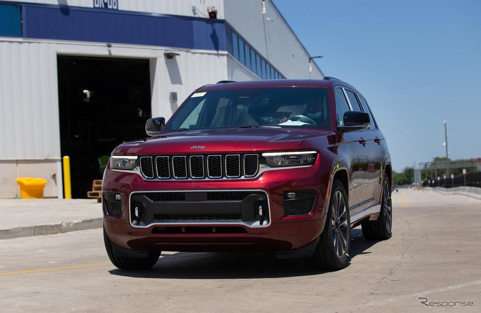 米国市場向け出荷を開始したジープ・グランドチェロキー L 新型《photo by Jeep》