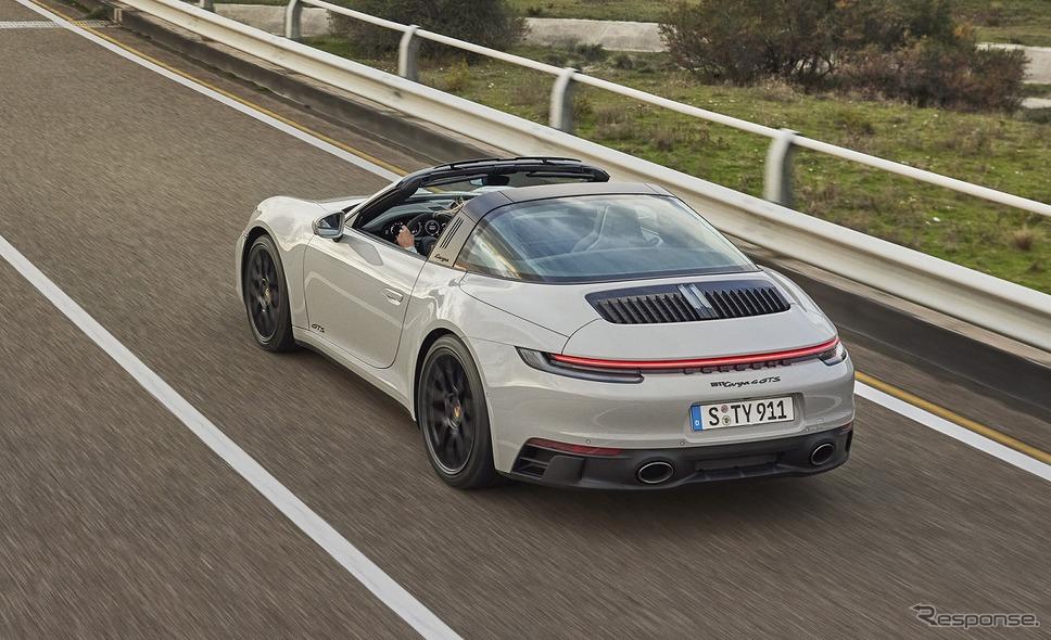 ポルシェ 911タルガ4 GTS《写真提供 ポルシェジャパン》