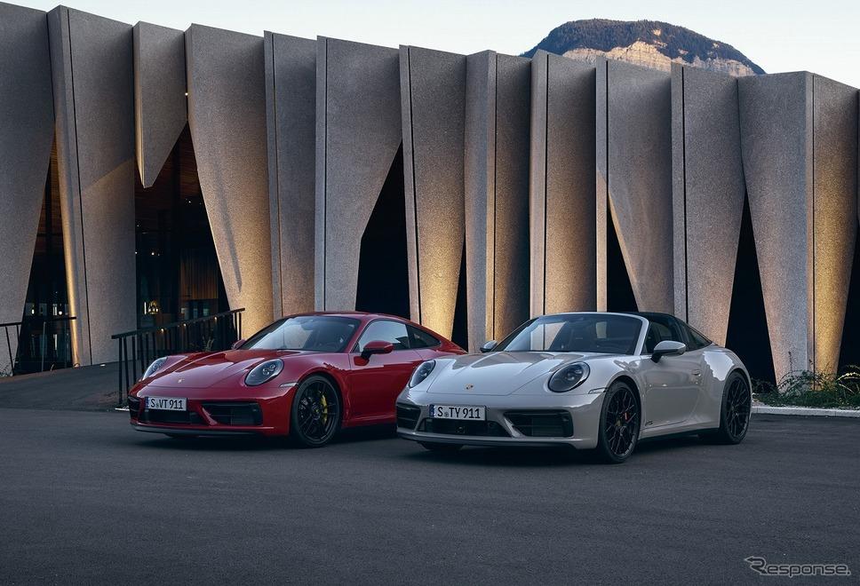 ポルシェ 911カレラGTS(左)とポルシェ 911タルガ4 GTS《写真提供 ポルシェジャパン》