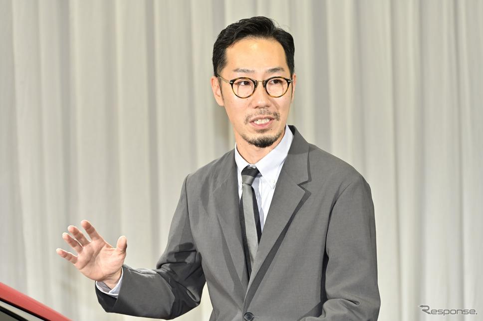 ホンダ シビック 新型のエクステリアデザイナー浅野一麿氏《写真撮影 雪岡直樹》