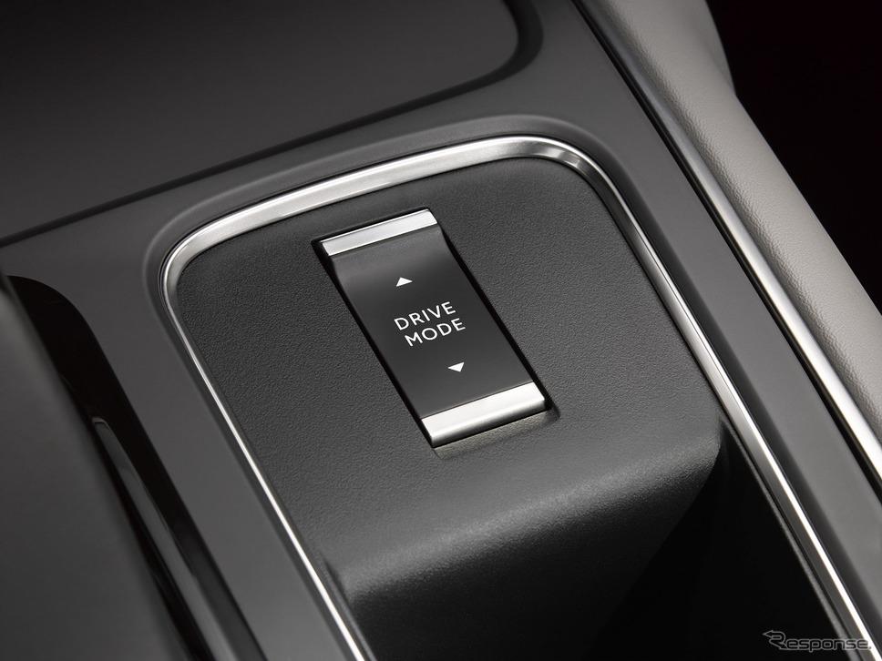 ドライブモード選択スイッチ《写真提供 グループPSAジャパン》