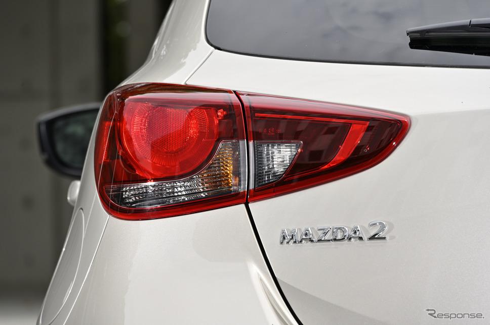 マツダ2 改良新型 特別仕様車 サンリットシトラス《写真撮影 雪岡直樹》