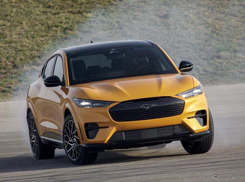 フォード・マスタング・マッハE のGTパフォーマンスエディション《photo by Ford》