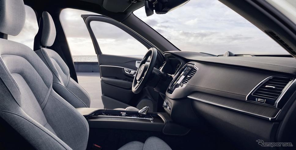 ボルボ XC90 現行型(参考)《photo by Volvo Cars》