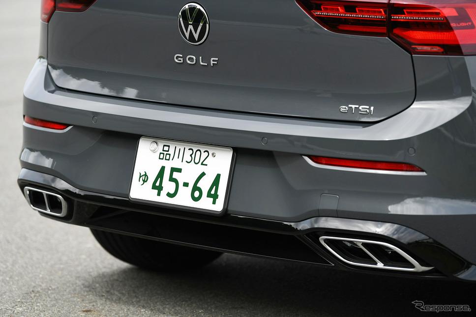 VVW ゴルフ eTSI R-Line《写真撮影 中野英幸》