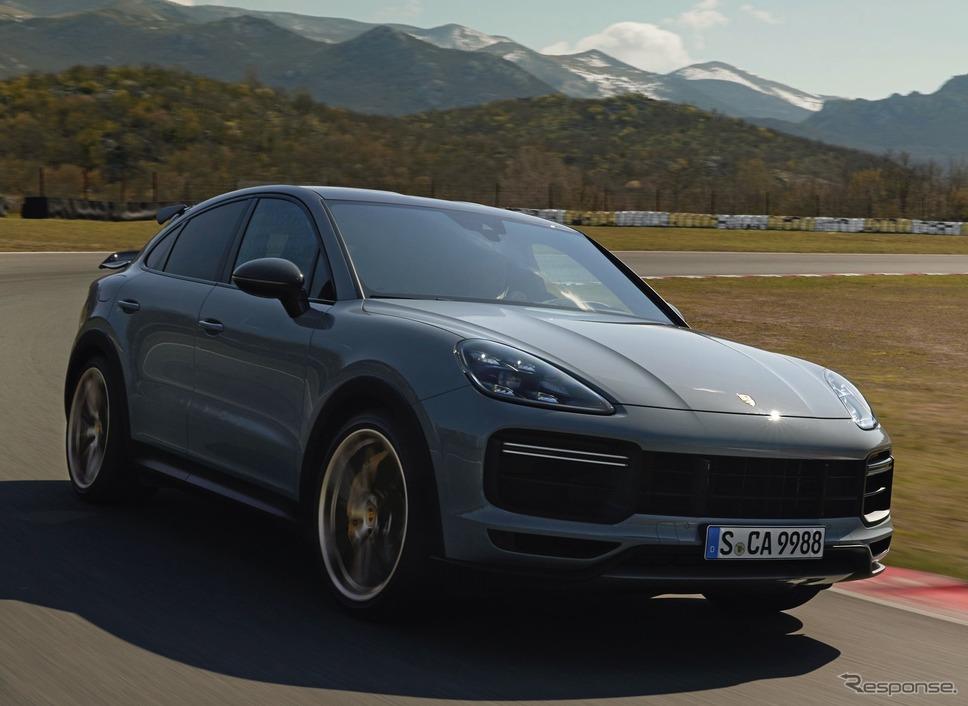 ポルシェ・カイエン・ターボ GT《photo by Porsche》