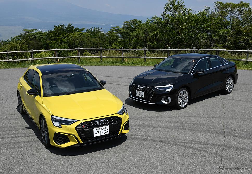 アウディ S3スポーツバック 新型とA3セダン 新型《写真撮影 中野英幸》