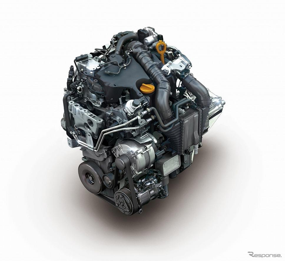 ルノー カングーリミテッドディーゼルMT エンジン《写真提供 ルノー・ジャポン》