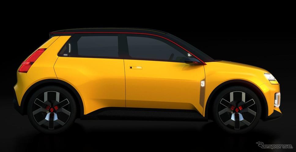 ルノー 5 プロトタイプ《photo by Renault》