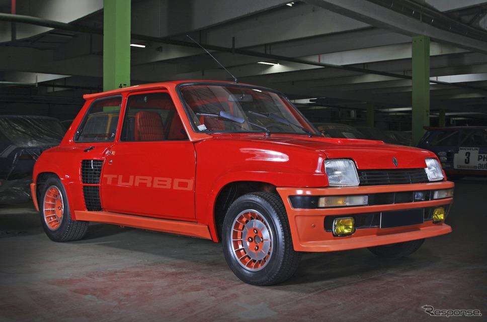 ルノー5ターボ《photo by Renault》