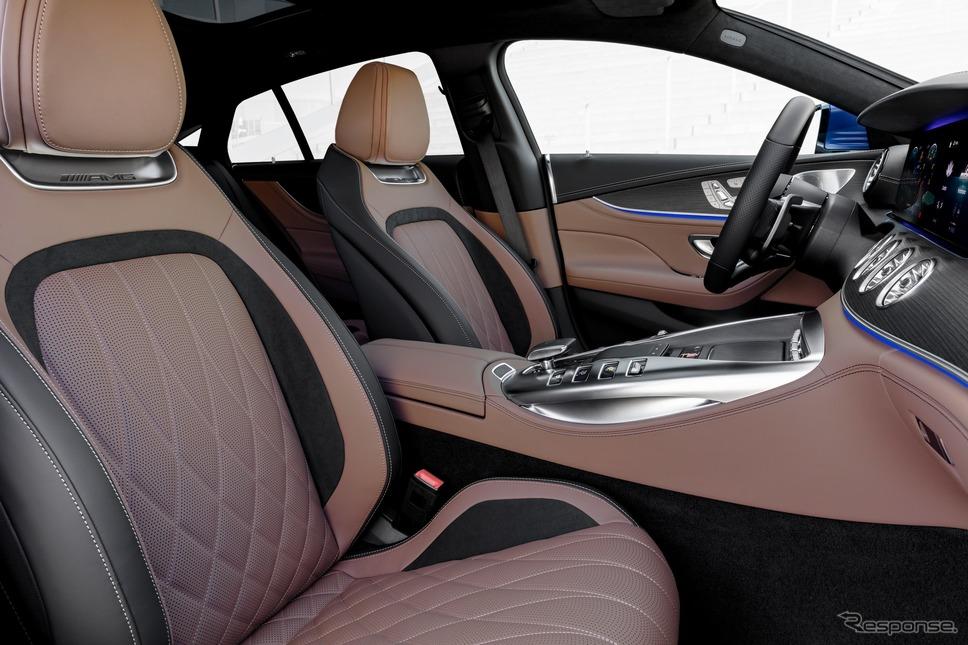 メルセデスAMG GT 4ドアクーペ の2021年モデル《photo by Mercedes-Benz》