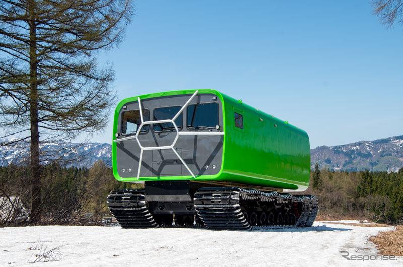 大原鉄工所の内陸用大型雪上車《写真提供 大原鉄工所》